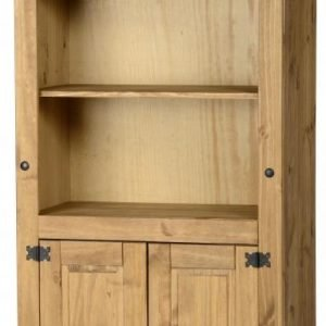 Corona 2 Door Display UnitBookcase Pine 1