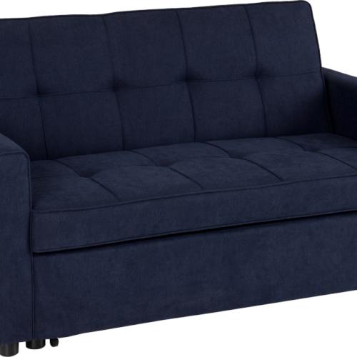 ASTORIA SOFA BED NAVY BLUE FABRIC 2019 01 300 308 043