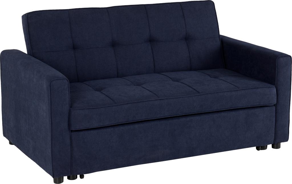 ASTORIA SOFA BED NAVY BLUE FABRIC 2019 01 300-308-043