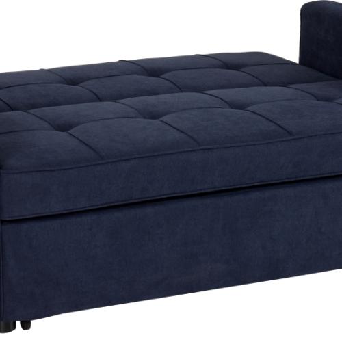 ASTORIA SOFA BED NAVY BLUE FABRIC 2019 02 300 308 043