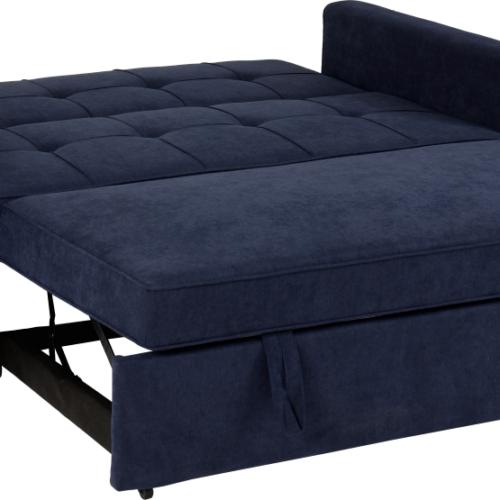 ASTORIA SOFA BED NAVY BLUE FABRIC 2019 04 300 308 043