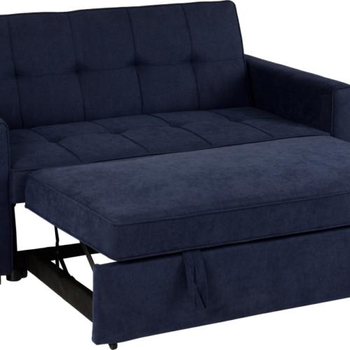 ASTORIA SOFA BED NAVY BLUE FABRIC 2019 05 300 308 043