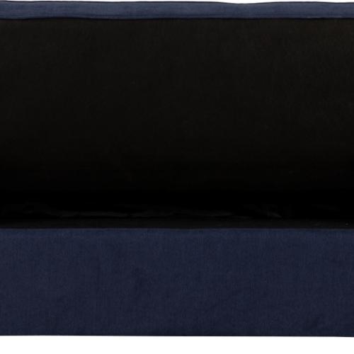 ASTORIA SOFA BED NAVY BLUE FABRIC 2019 09 300 308 043