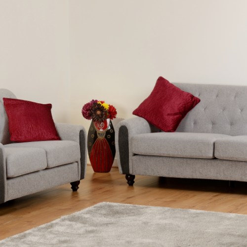 CHESTER 32 SUITE LIGHT GREY FABRIC 2019 11 300 308 051