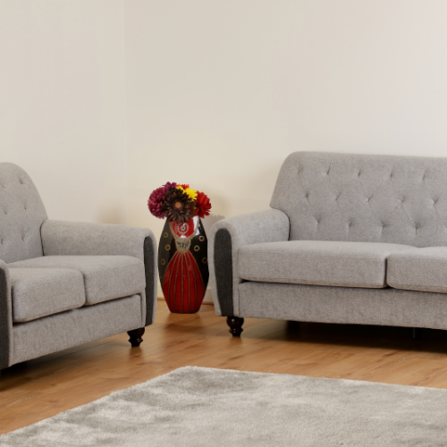 CHESTER 32 SUITE LIGHT GREY FABRIC 2019 12 300 308 051