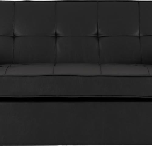 ASTORIA SOFA BED BLACK PU 2020 300-308-055 06