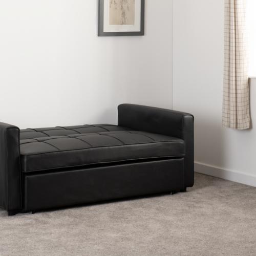 ASTORIA SOFA BED BLACK PU 2020 300-308-055 12