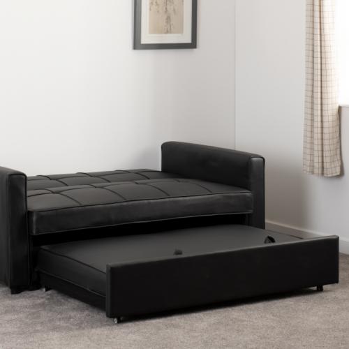 ASTORIA SOFA BED BLACK PU 2020 300-308-055 13