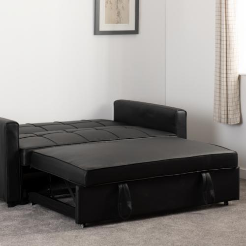 ASTORIA SOFA BED BLACK PU 2020 300-308-055 14