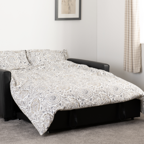 ASTORIA SOFA BED BLACK PU 2020 300-308-055 15