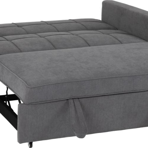 ASTORIA SOFA BED DARK GREY FABRIC 2020 300 308 054 04