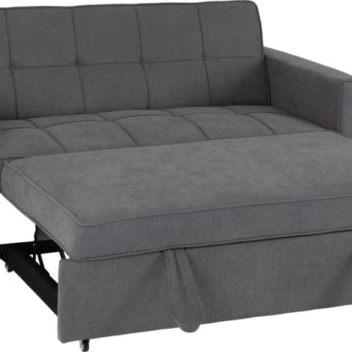 ASTORIA SOFA BED DARK GREY FABRIC 2020 300 308 054 05