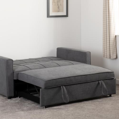ASTORIA SOFA BED DARK GREY FABRIC 2020 300 308 054 14