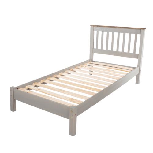 CRG300LE Corona Washed Grey 3′ Lowend Grey Bed