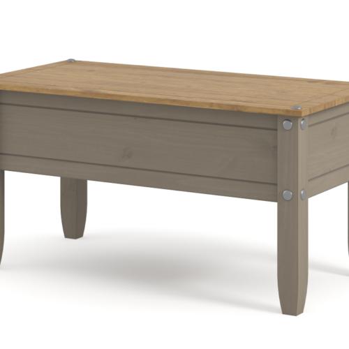 CRG902 Corona Washed Grey Coffee Table