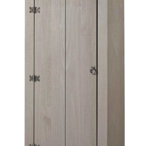 CRG905 Corona Washed Grey vestry cupboard